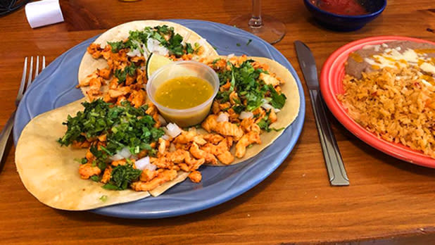 Meal at El Rancho; Photo Credit: @wny_explorers_guide on Instagram
