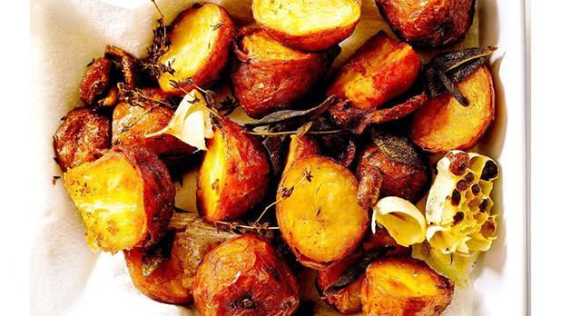 crispy farmhouse potatoes from Masala Farm