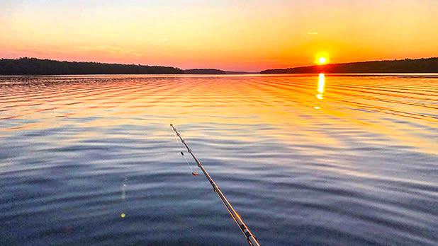 Salmon River Reservoir; Photo Credit: @chris___malone on Instagram