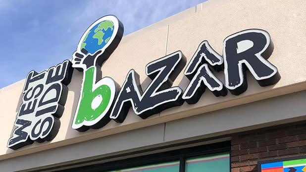 West Side Bazaar sign