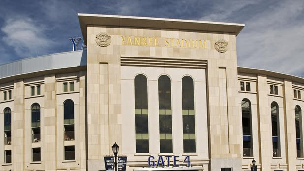 Exterior of Yankee Stadium