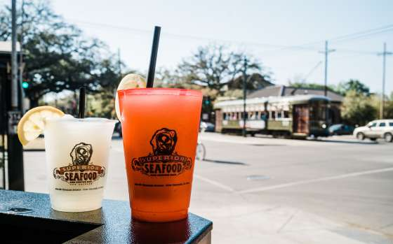 Superior Seafood Cocktails on St. Charles Avenue