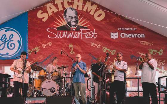 Celebrate Louis Armstrong at Satchmo SummerFest