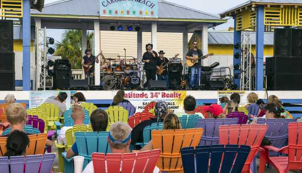 Music on Carolina Beach Boardwalk