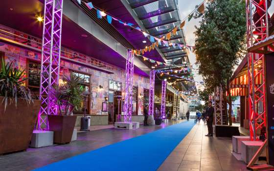 South Wharf Promenade Food Festival for AIME 2019 Networking event