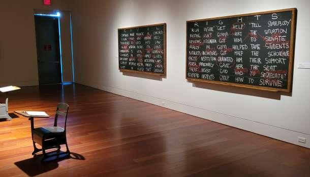 Willie Cole Exhibit at Cameron Art Museum