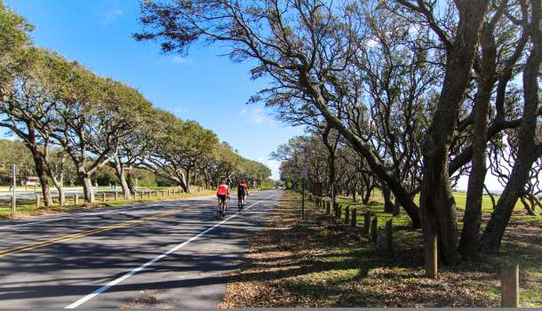 Fort Fisher Cyclist