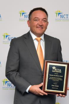 Sam Jones NCTIA Award 2021