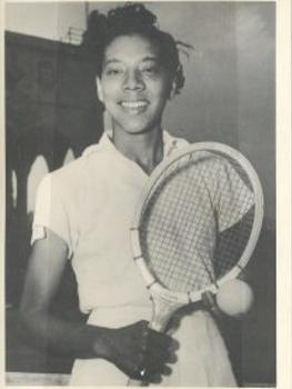 CF Museum - Althea Gibson photo