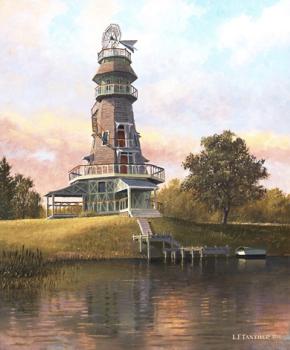 Wolfert's Roost Mill by Len Tantillo