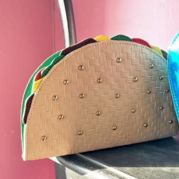 edited taco purse