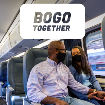 Amtrak BOGO Offer