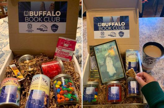 Book club goodie box