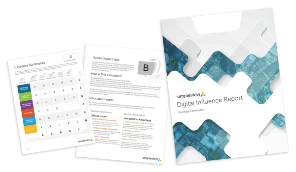 Digital Influence Report sample