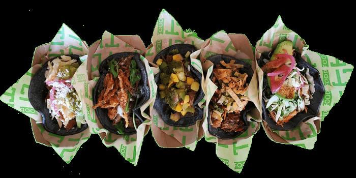 TLT Food Irvine Taco Line Up