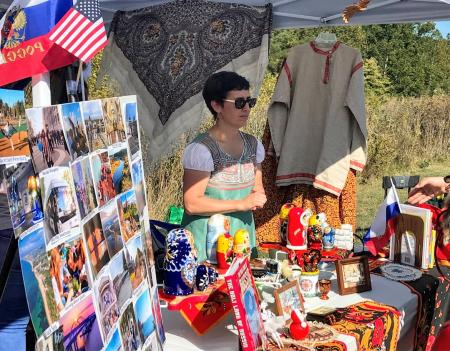 Booth at the International Festival