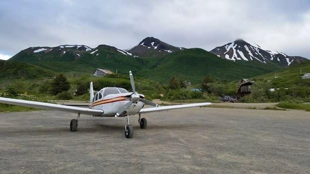 a small commuter plan in rural Alaska