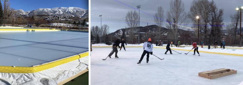 Howelsen Hill Outdoor Ice Skating Rink