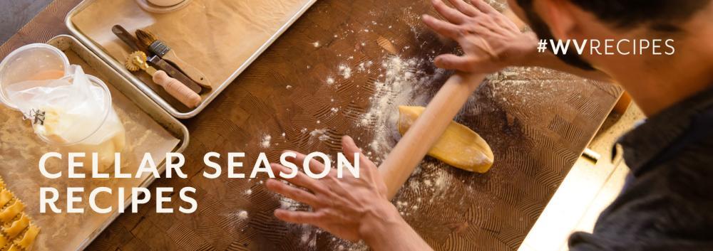 Cellar Season Recipes banner