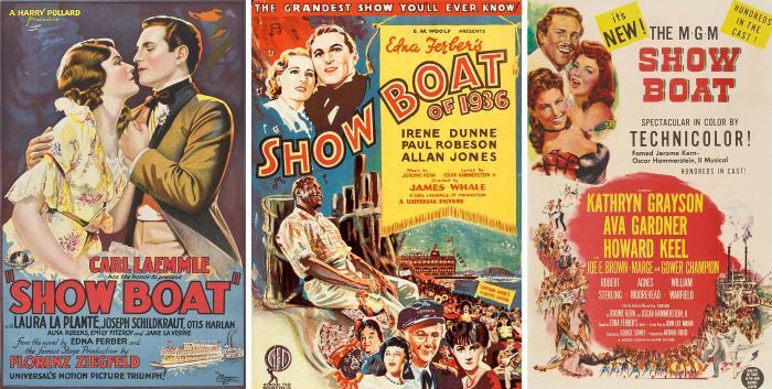Show Boat Film Versions