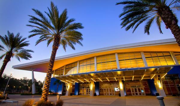 Mississippi Coast Convention Center Night