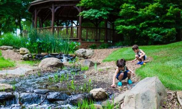 Kids playing at Irmo Community Park