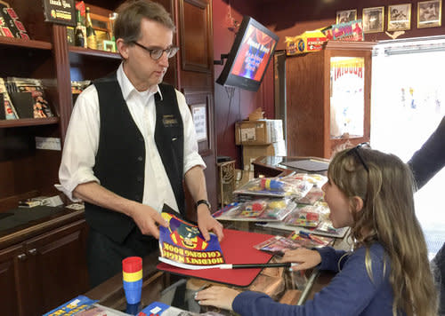 Getting Tricked at Houdini's Magic Shop