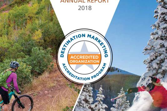 Park City Chamber 2018 Annual Report Cover