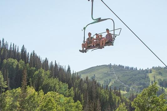 Deer Valley Resort Summer Chairlift Rides