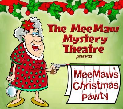 Meemaw Christmas Pawty