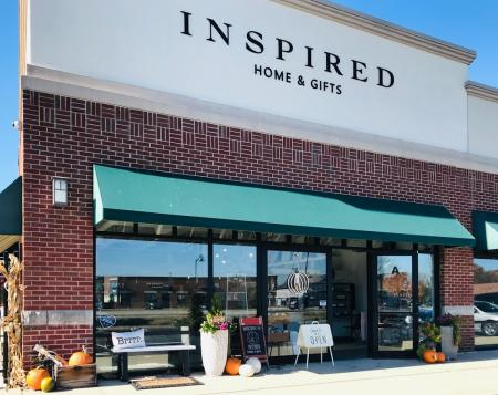 Inspired Home and Gifts storefront