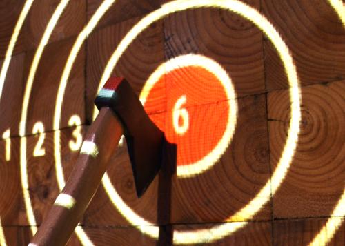Bullseye at Horse's Axe