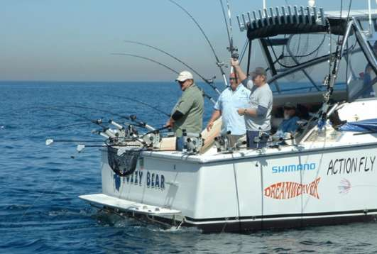 Question Number One - Charter Fishing on Lake Michigan
