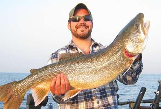 """The Fish Are """"IN"""" - Lake Michigan Fishing"""
