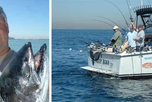 Big Lake Equals Big Fish - Lake Michigan Fishing