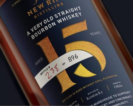 new riff distilling 15-year straight bourbon