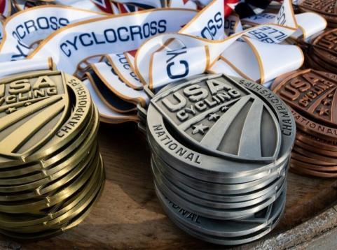 Cyclocross Medals