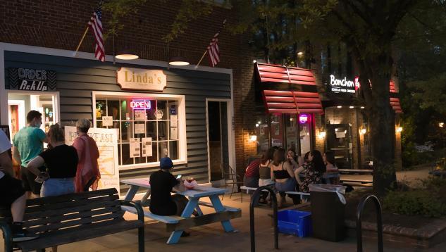 Linda's Bar & Grill on Franklin St, Chapel Hill