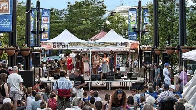 Summer Music   Outdoor Concerts   Boulder, CO