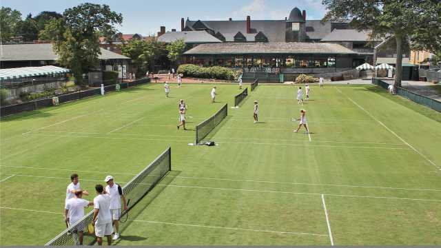 International Tennis Hall of Fame Grass Courts