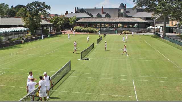 International Tennis Hall of Fame Grass Courts