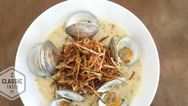 Clam Chowder from Saltwater