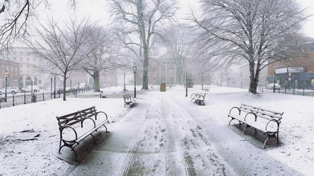 Winter in Washington Square