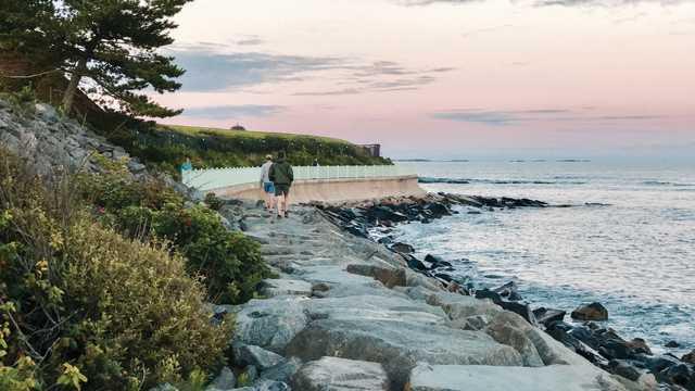 Cliff Walk Sunrise