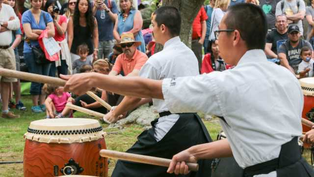Japanese Drummers at Festival