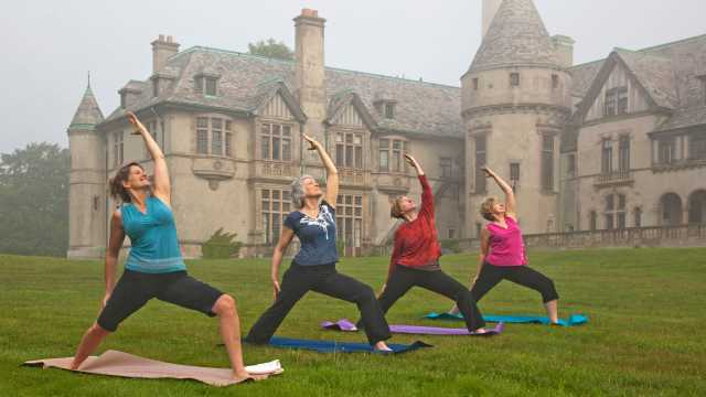 Yoga at Mansion
