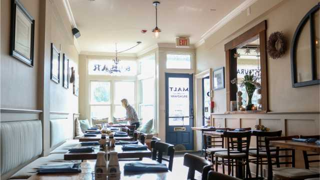 Malt on Broadway Restaurant in Newport