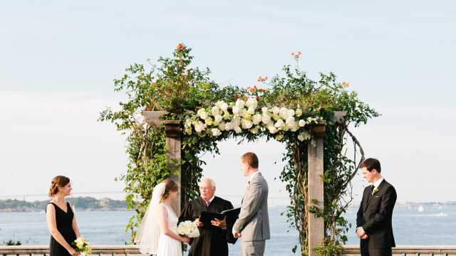Castle Hill Wedding Ceremony