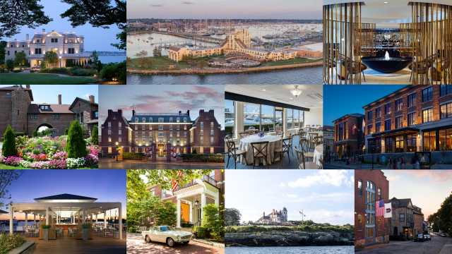 Newport Hotel Collection Collage