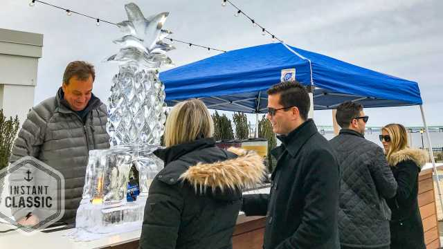 Ice Luge at Gurney's Newport Resort, Newport Winter Festival